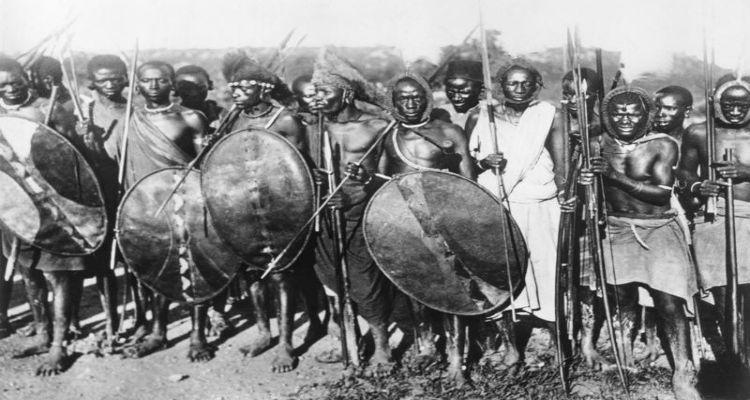 Maji Maji warriors