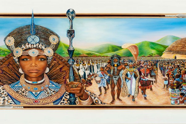 Nandi Queen of Zululand by HM Rahsaan Fort II