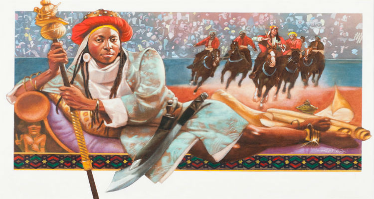 Queen Amina of Zaria by Floyd Cooper