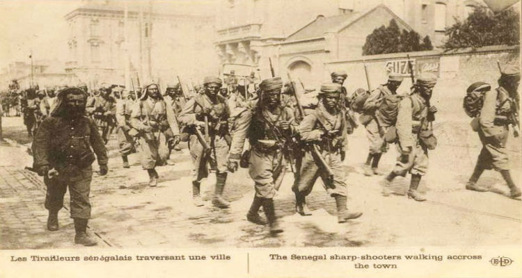 Senegalese Tirailleurs
