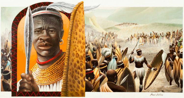 what was shaka zulu famous for