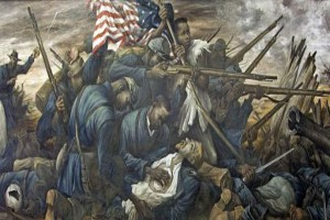 The 54th Massachusetts regiment
