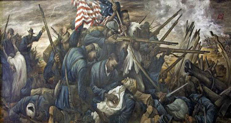 The 54th Massachusetts regiment