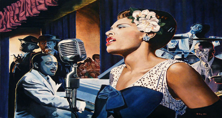 lady sing the blues in american The first popular jazz singer to move audiences with the intense, personal feeling  of classic blues, billie holiday changed the art of american pop vocals forever.