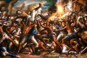 Haiti Revolution Ulrick Jean-Pierre's Paintings 7