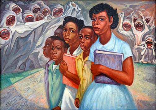 Racism at Little Rock Domingo Ulloa 1957