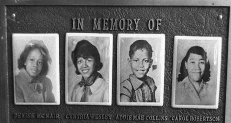 In Memory of Four Little Girls