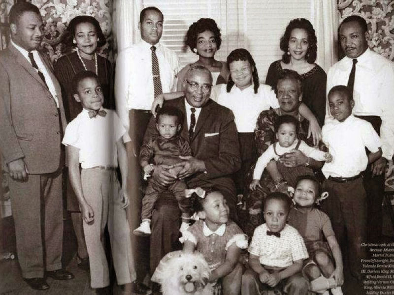 Image result for martin luther king jr family