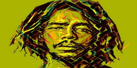 Peter Tosh created by Charis Tsevis