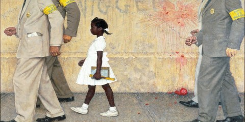 The Problem We All Must Live With Norman Rockwell