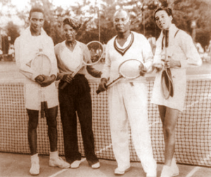 Ora Mae Washington and Althea Gibson