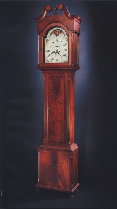 Peter Hill tall case clock