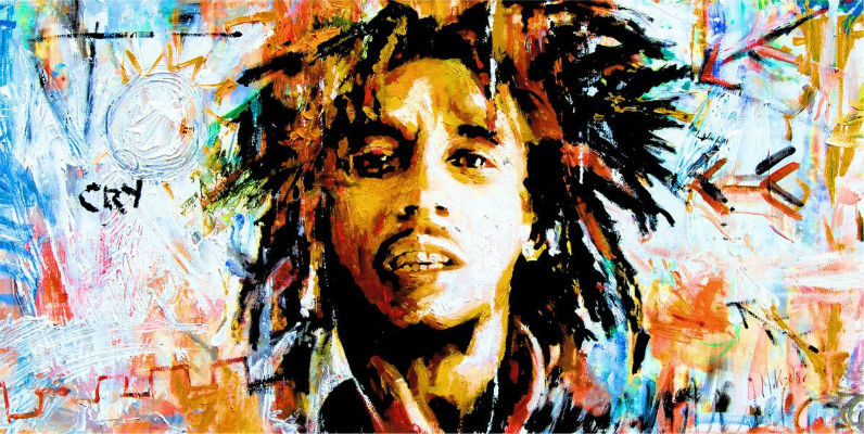 bob marley works cited 1 bob's father was a 50-year-old white british naval captain named norval sinclair marley bob's mom, a black country village girl named cedella 9 when bob was twenty-one, he lived in delaware for seven months during that time he worked the night shift at a chrysler plant (about which he wrote.