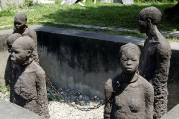 Memory for the Slaves by Scandinavian artist Clara Sornas