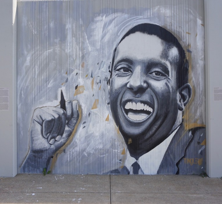 Kwame Ture (Stokely Carmichael) by Chuck Tingley