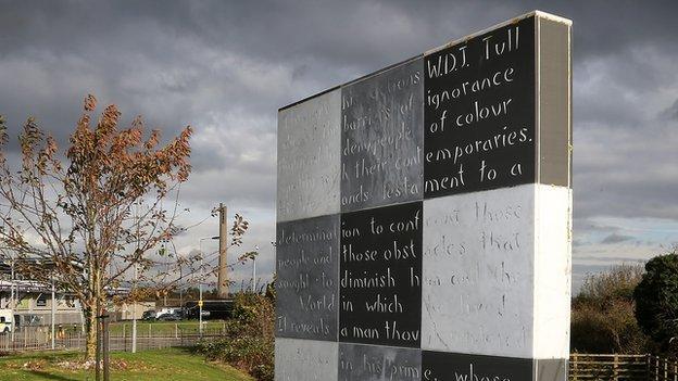 The Walter Tull Memorial