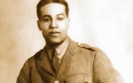 Walter Tull in uniform