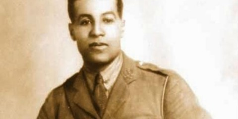Walter Tull in uniform