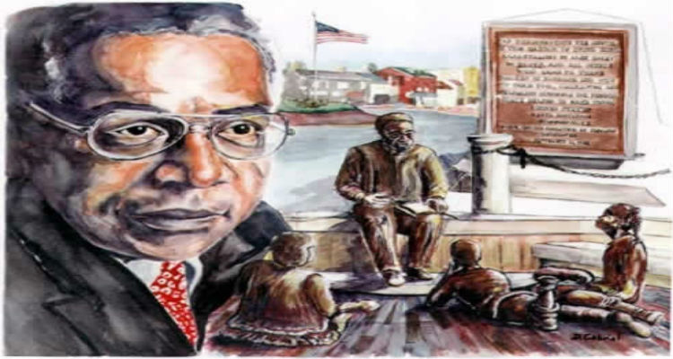 Alex Haley by Denise Art