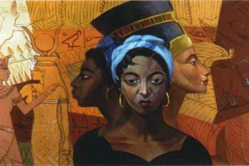 Egyptian Heritage by Lois Mailou Jones