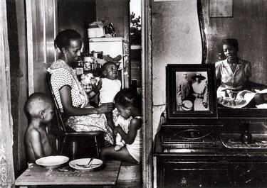 Ella Watson and Her Grandchildren, 1942