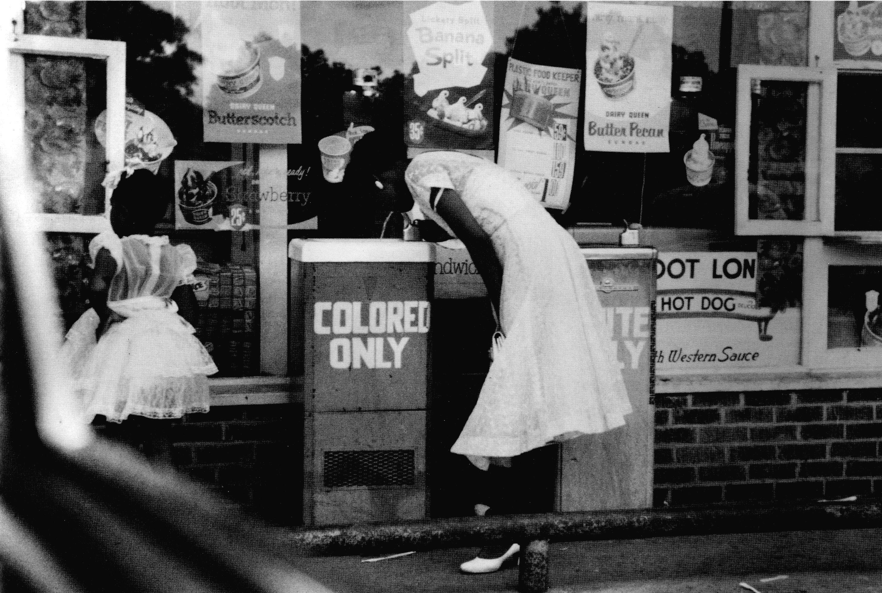 Drinking Fountain, Birmingham, Alabama 1956