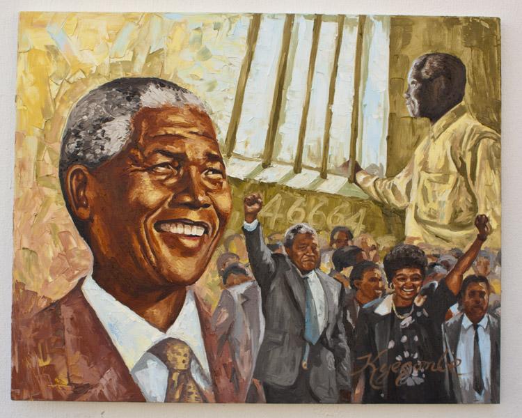 Nelson Mandela: African Freedom   Kyegombe