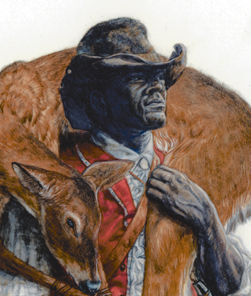 York carrying an animal he killed