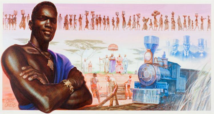 Khama III by Carl Owens