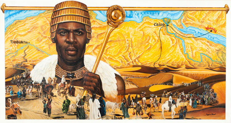 Mansa Kankan Musa King of Mali by Barbara Higgins Bond