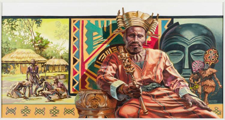 Mwana Ngana Ndumba Tembo by Kenneth Calvert