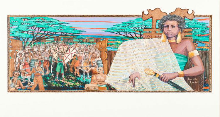 Nzingha—Amazon Queen of Matambo by Dorothy Carter