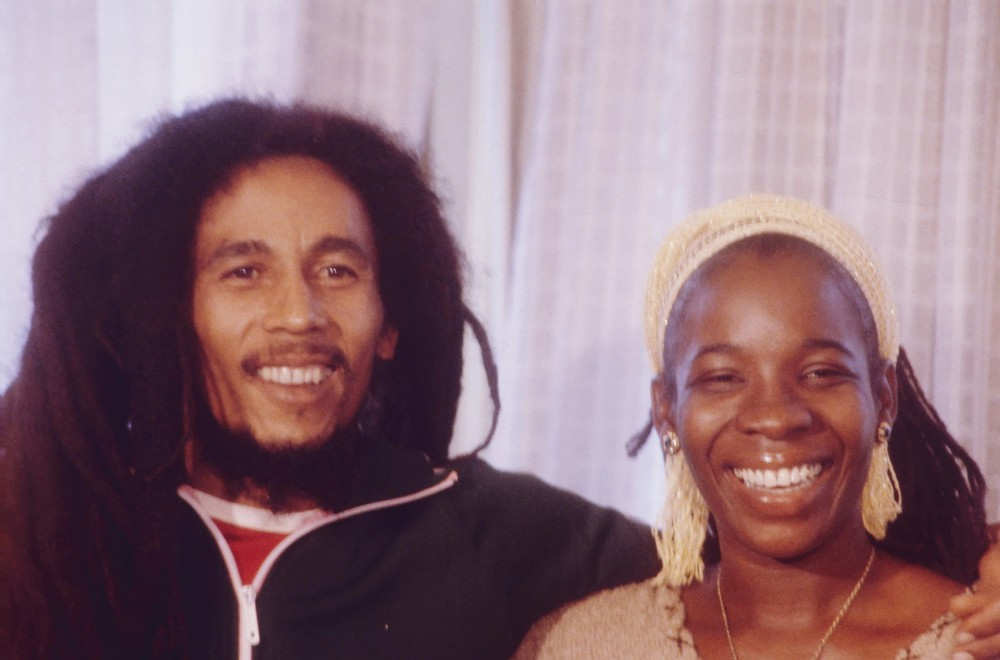 Bob and Rita Marley