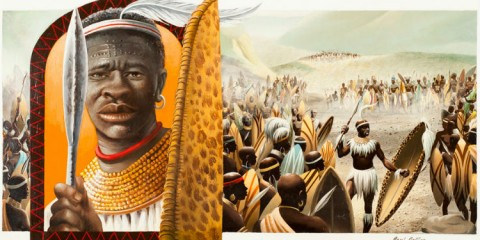 Shaka-King of the Zulus by Paul Collins