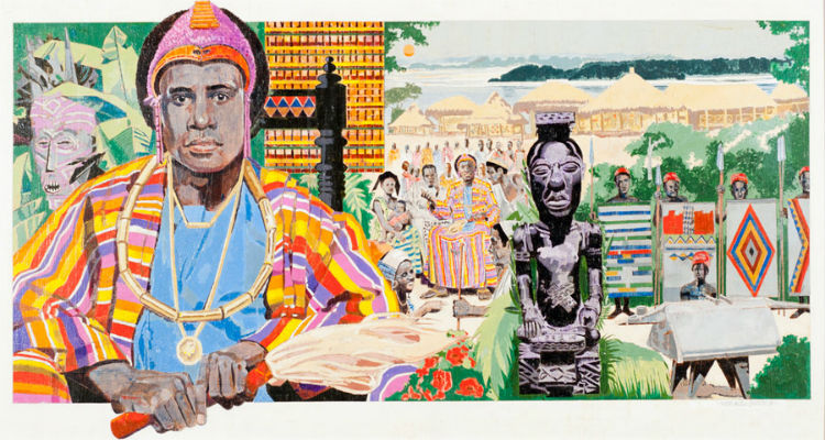 Shamba Bolongongo African King of Peace by Roy LaGrone