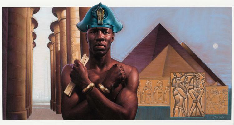 Thutmose III by Antonio Wade