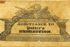 Ticket Richard Potter