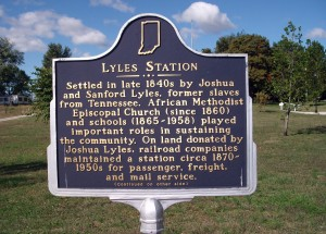 Side 'One' - - Lyles Station Marker
