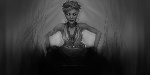 Marie Laveau by Ritri