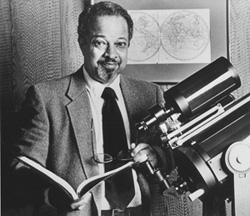 Arthur Bertram Cuthbert Walker II, professor of physics and applied physics, at his home on campus shortly after being appointed by President Ronald Reagan in 1986 to serve on the commission that investigated the space shuttle Challenger explosion. Courtesy Victoria Walker.