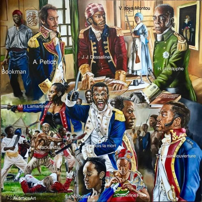 Haitian Revolutionary Heroes