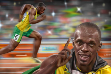 Usain Bolt by Jahmani Campbell