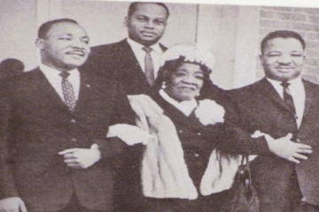 Mrs King and MLK