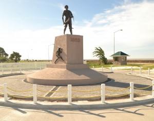 Quamina monument