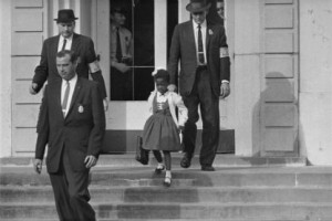 Ruby Bridges escorted