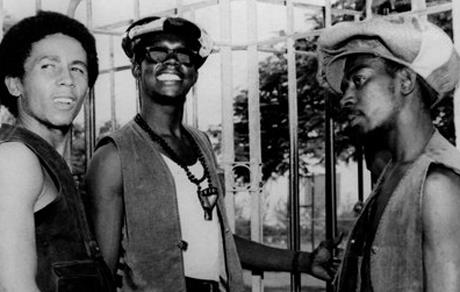 Bob Marley Bunny Wailer and Peter Tosh