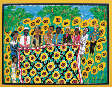 The Sunflower Quilting Bee at Arles