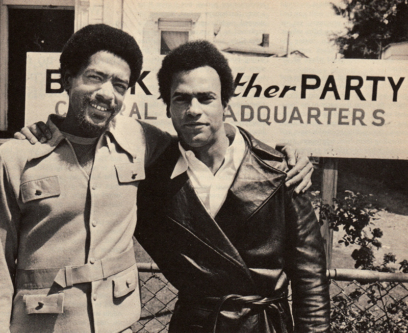 Bobby Seale and Huey P. Newton