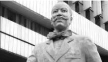 Statue of Herbert Samuel Heelas Macaulay