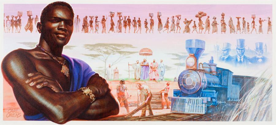 Khama by Carl Owens